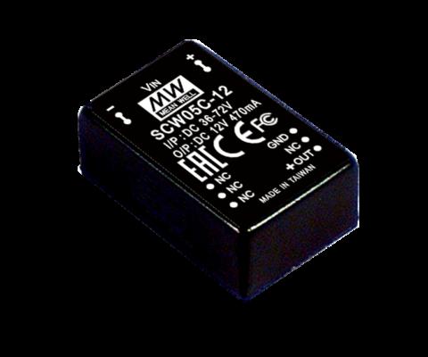 5W DC-DC Regulated Single Output Converter