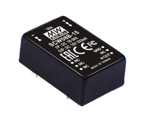 8W 15V DC-DC Regulated Single Output Converter
