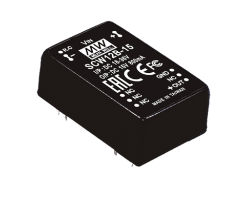 12W 15V DC-DC Regulated Single Output Converter