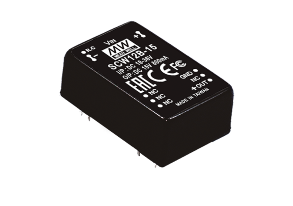 12W 12V DC-DC Regulated Single Output Converter