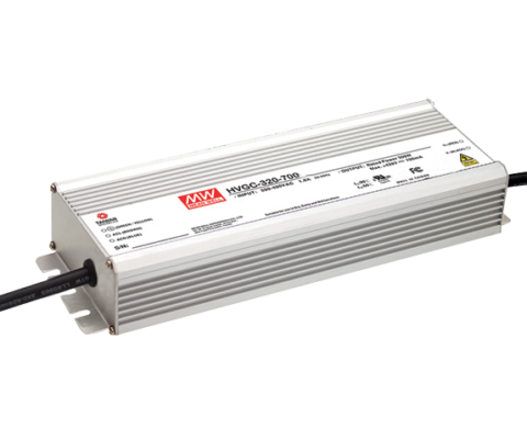 320W 156V 2100mA Single Output LED Power Supply Io adjustable through built-in potentiometer 3 in 1 dimming function