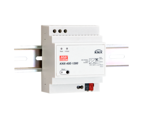 KNX-40E-1280 1280mA Bus Power Supply