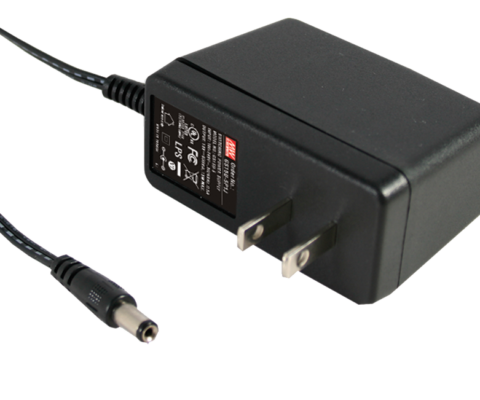 GS15U-4P1J 15W 15V AC-DC  Industrial Adaptor – US 2 Pin AC Plug