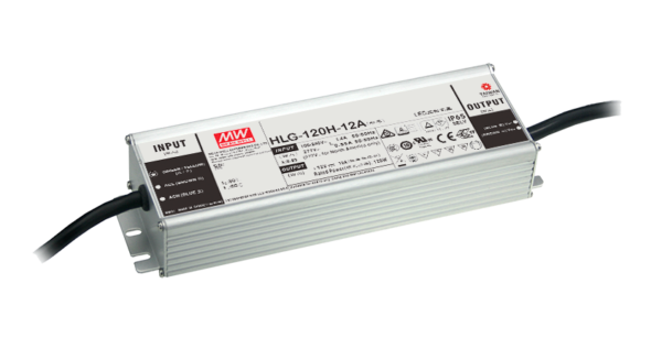 HLG-120H-24 120W  24V Constant Voltage + Constant Current LED Driver