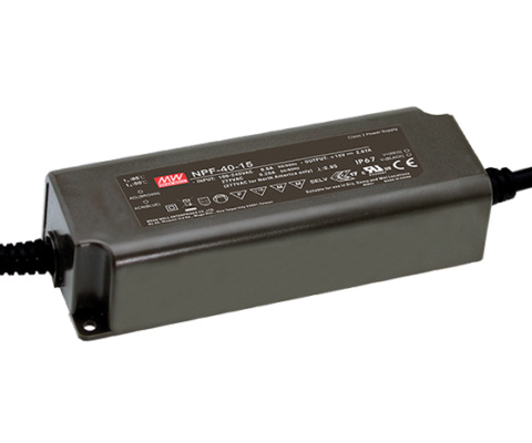 NPF-40 Series 40W Constant Voltage + Constant Current LED Driver