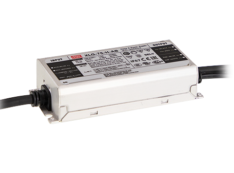XLG-75 Series 75W Constant Power Mode LED Drivers