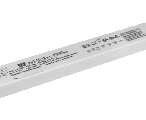12V 50W Constant Voltage and Constant Current LED Driver