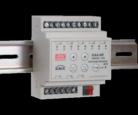 KAA – 8R-10 KNX Universal Actuator